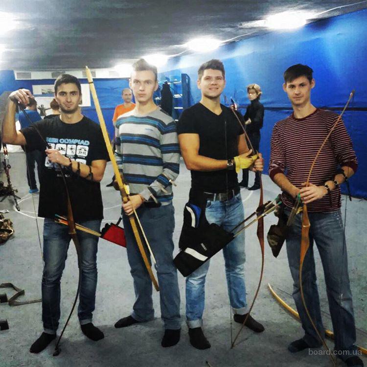 """Лучный тир """"Лучник"""", Archery Club, Стрельба из лука Киев"""