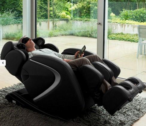 Инновационное кресло для массажа Braintronics