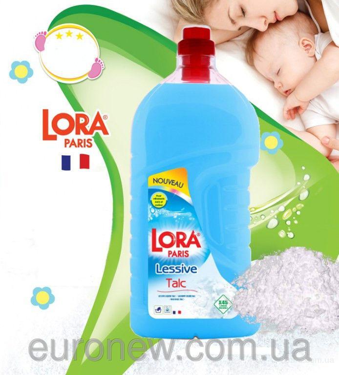 Гель для стирки детского белья Lora Paris Aloe Vera et de talc gel, 3 Л