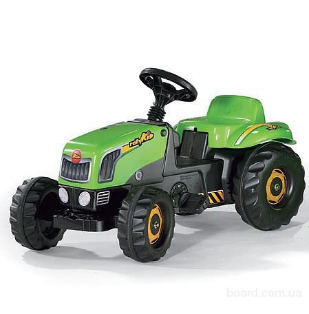 Трактор Педальный с Прицепом Kid Rolly Toys 12169