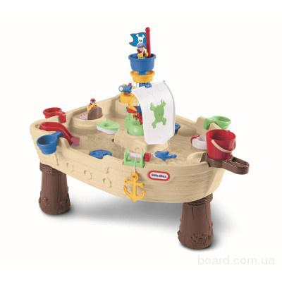 Детский Водный Стол Пиратский корабль Little Tikes 628566