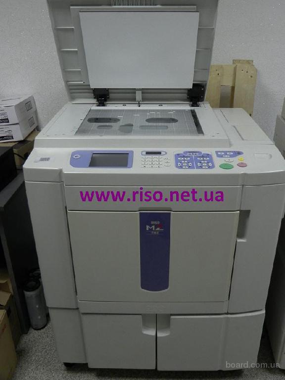 Продам ризограф Riso MZ 770 А3