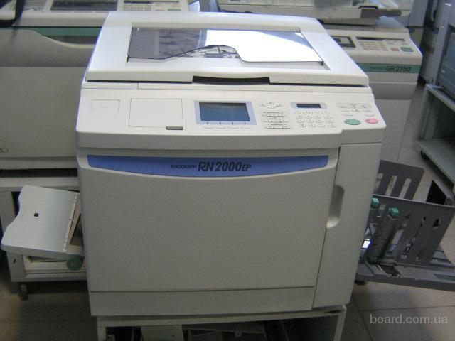 Продам ризограф RISO RN 2000