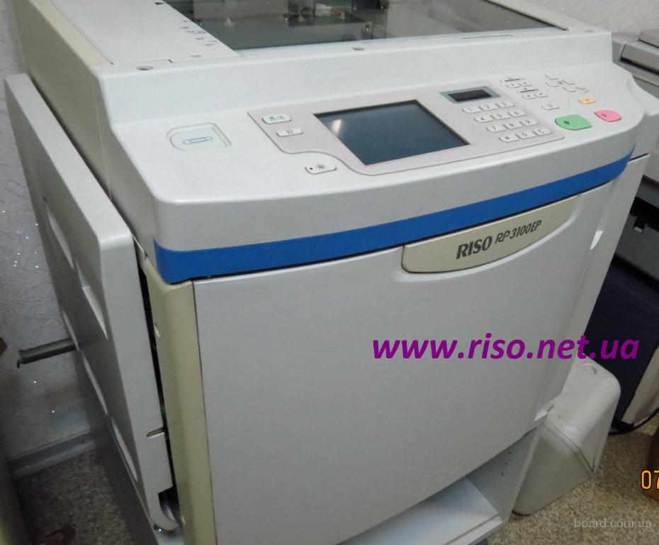 Продам отличный ризограф Riso RP 3105
