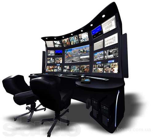 Высокое качество установки видеонаблюдения.