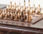 Шахматный стол «Цезарь»