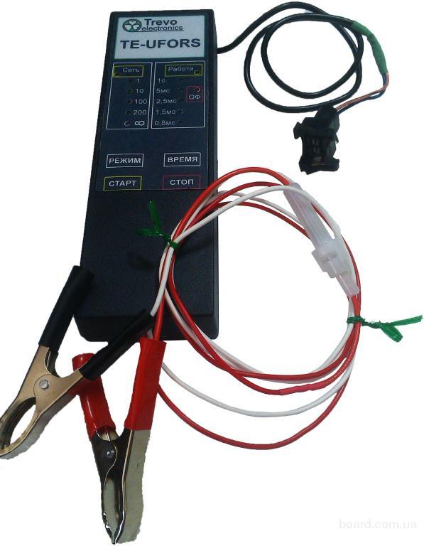Тестер для проверки и очистки электронных бензиновых форсунок