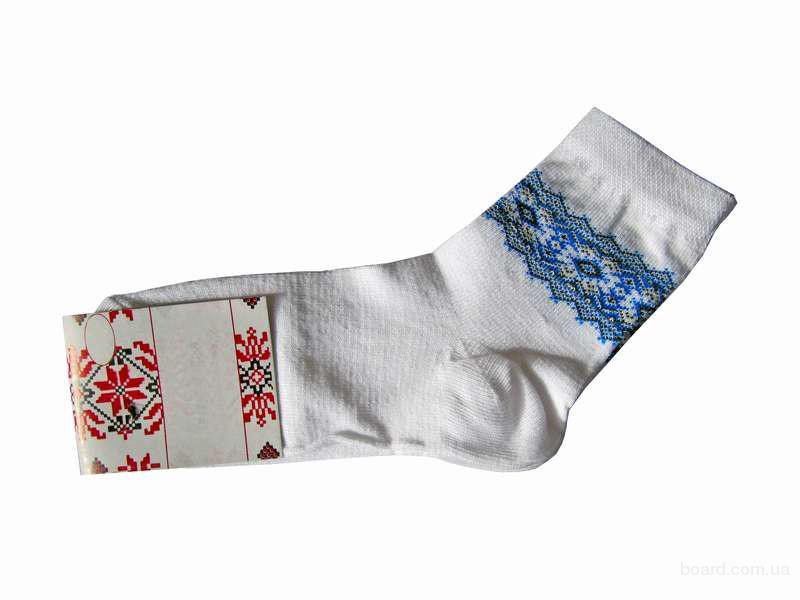 """Шкарпетки жіночі """"Авангард"""" білі"""