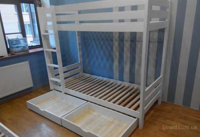 Двухъярусная кровать. 100% дерево