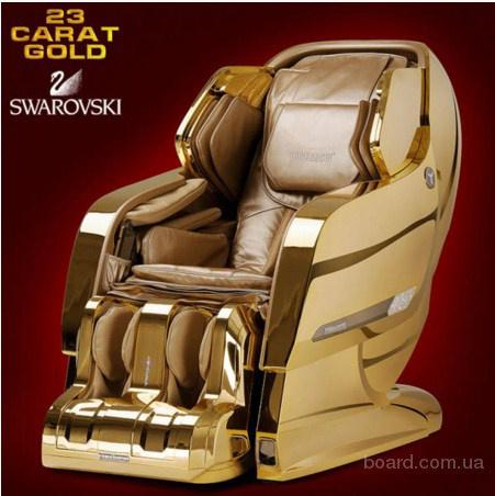 Шикарное кресло для массажа Yamaguchi Axiom Gold