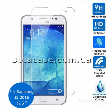 Защитное стекло для Samsung Galaxy J5 J510 / J510H (2016)