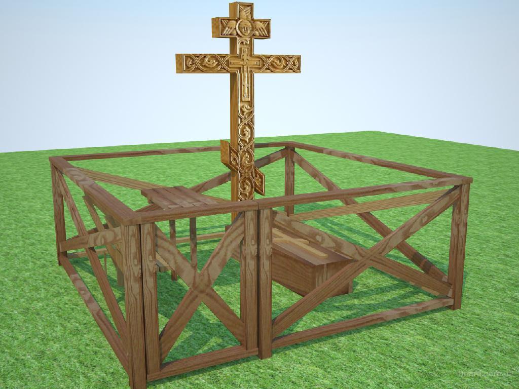 памятник на могилу КРЕСТ ПРАВОСЛАВНЫЙ