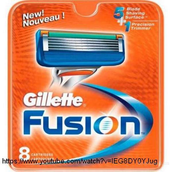 Продам оригинальные лезвия Gillette Fusion