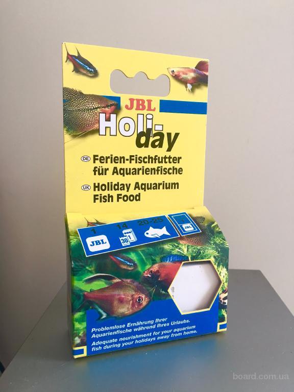 Корм для рыб вовремя отпуска jbl holiday