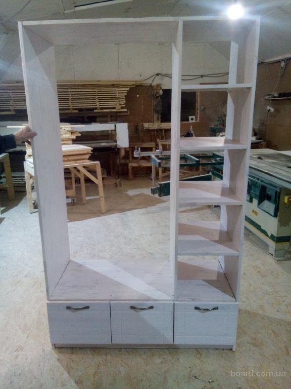 Шкаф для дачи из натурального дерева