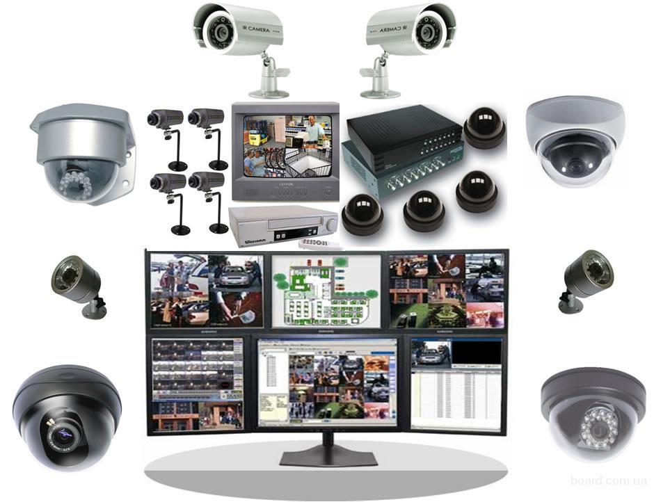 Продажа оборудования систем безопасности.
