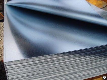 Лист стальной холоднокатаный 1000х2000х0,5 ст 08 ю