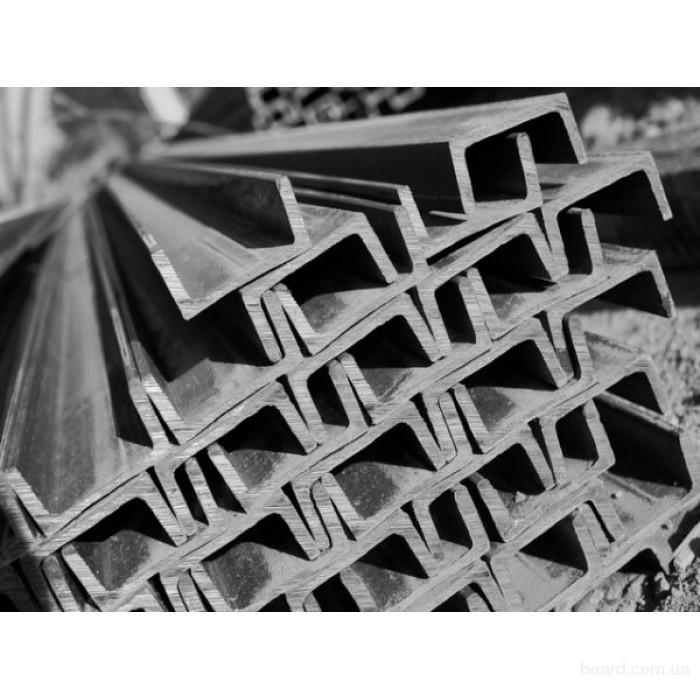 Швеллер стальной 8П ст. 3 сп