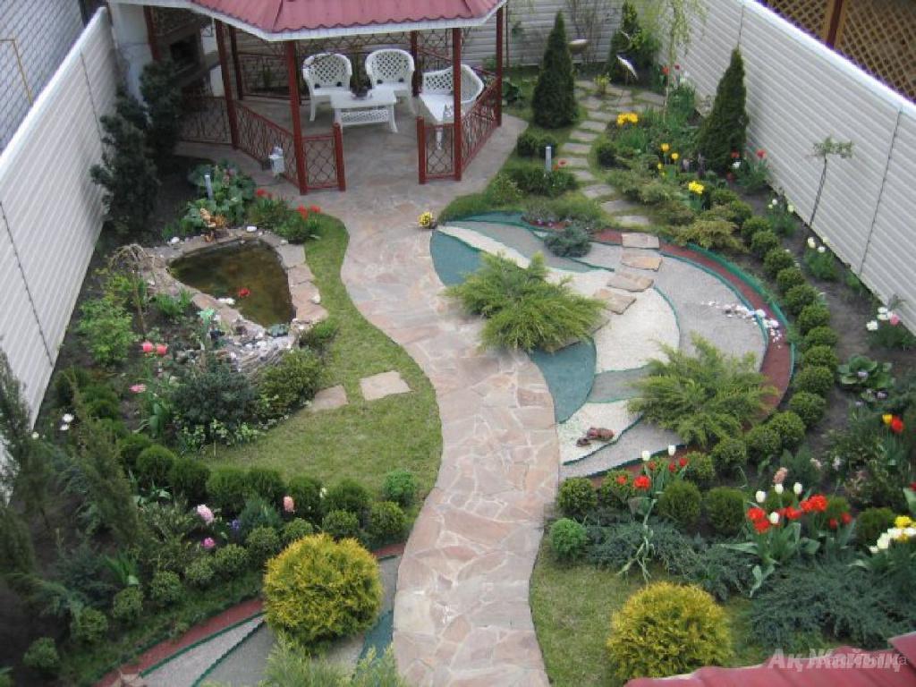 Своими руками стильный сад