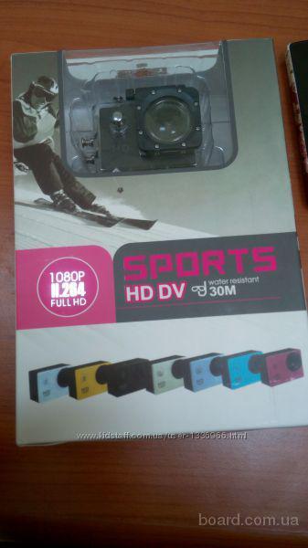 Экшн камера для спорта Водонепроницаемый корпус Камеру Экшн для спорта  Waterproof Full HD 170* Action Camera Black  Подбор аксессуаров к мобильным и