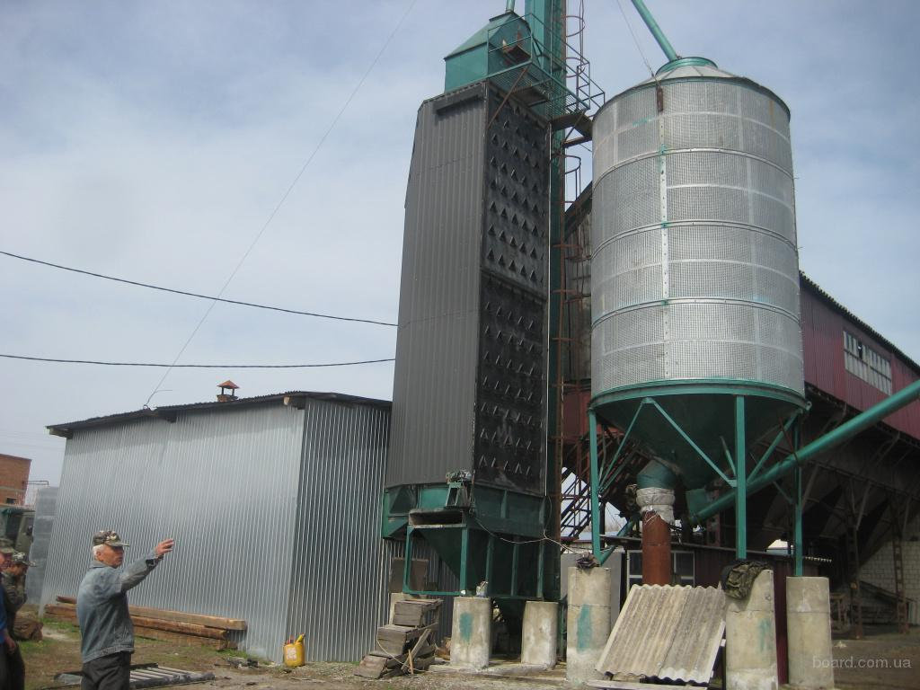реконструкция и установка зерносушилок