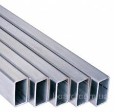 Алюминиевая труба прямоугольная 80x40x2 Анод 15мкм 6м АД31Т5