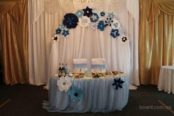 Аренда красивой свадебной арки от 600 грн. столик в подарок