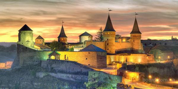 Каменец-Подольский на майские праздники из Киева, туры Каменец на майские недорого, экскурсии Черновцы, Хотинская крепость, Бакота