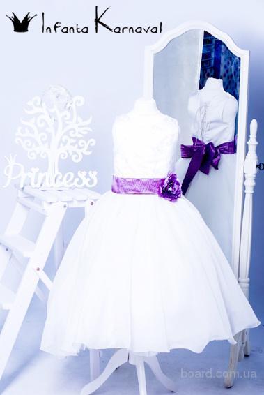 Прокат детских бальных платьев и фраков для выпускного Киев