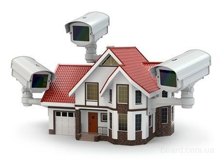 Установка систем GSM сигнализации, видеонаблюдения.