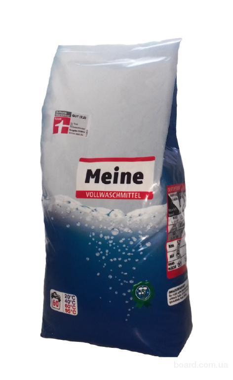 Порошок Meine Vollwaschmittel 3кг для белого белья (60 стирок)