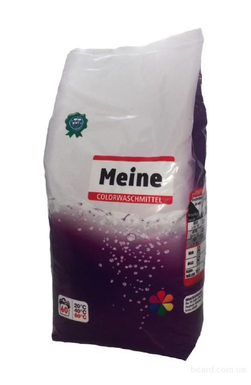 Порошок Meine Colorwaschmittel 3кг для цветного белья (60 стирок)
