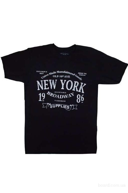Новая мужская коллекция трикотажных футболок от производителя 2016