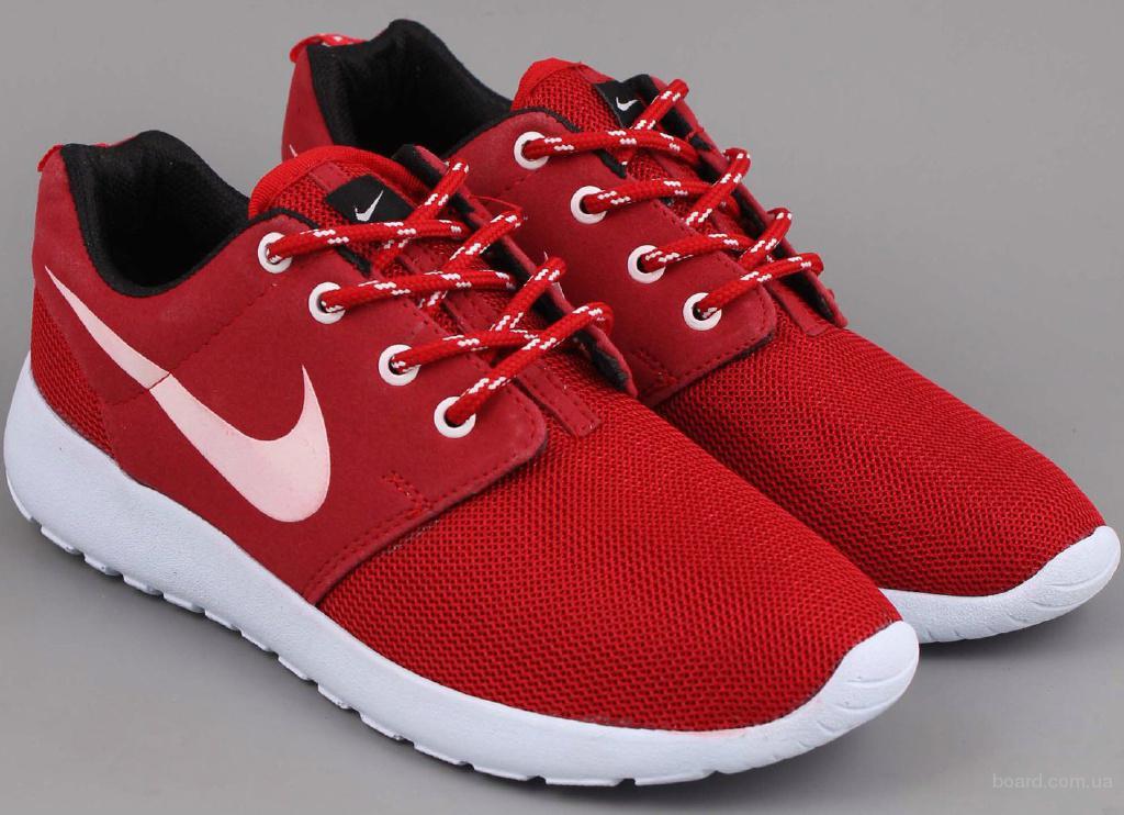 Кроссовки Nike Roshe Run One 636220 бордовые