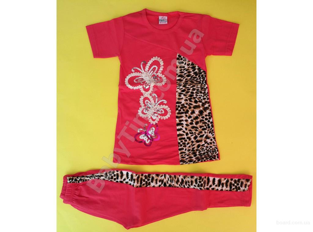 Яркие летние костюмы для девочек