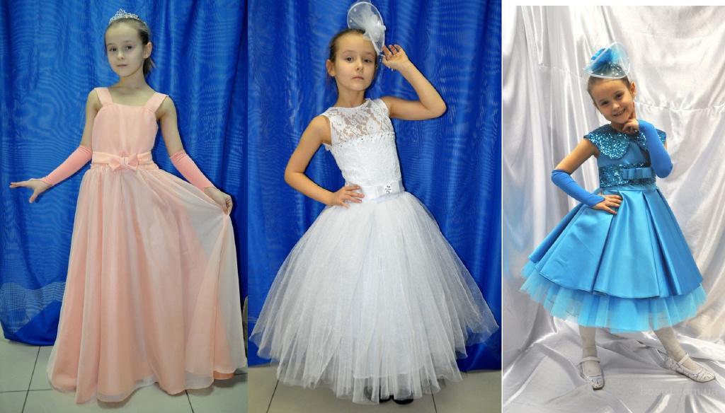 Прокат детских нарядных платьев для выпускных и праздников.