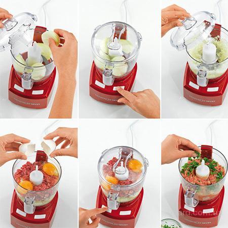 Кухонный комбайн - измельчитель реверса (Reverso)