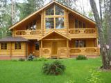 Купить сруб Строительство деревянных домов из сруба бревна ели в Одессе