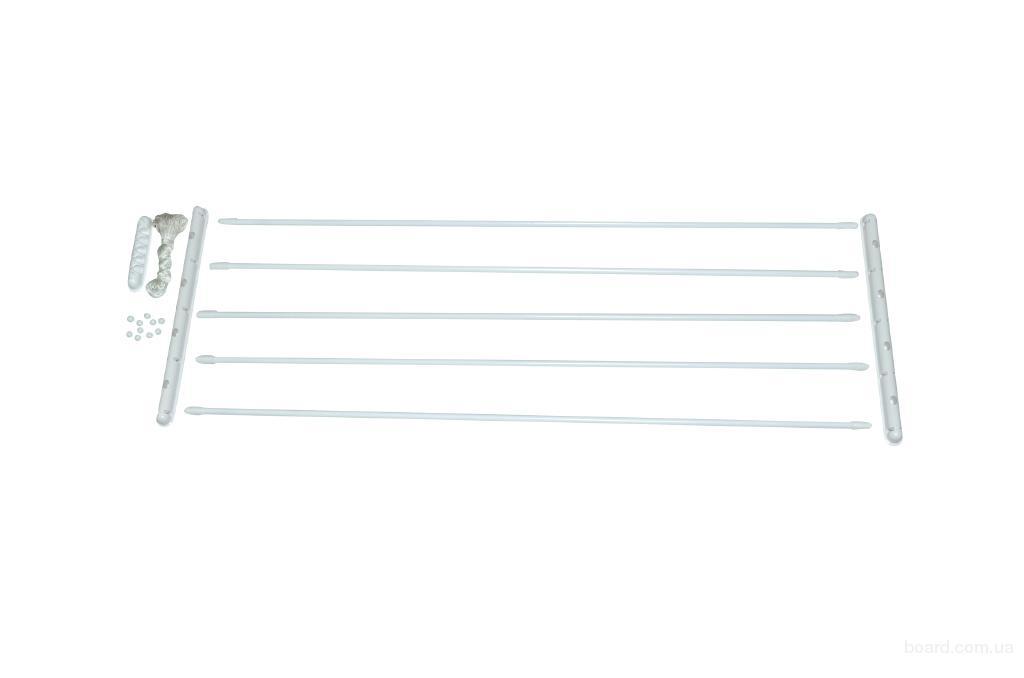 Сушилка ODA для белья потолочная 1,2; 1,3; 1,4; 1,5 м; 1,6; 1,7; 1,8;1,9; 2 м; 2,1 м. Odaprom