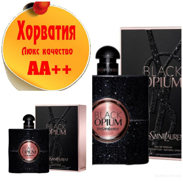 Yves Saint Laurent Black Opium edp   Люкс качество АА++! Хорватия Качественные копии
