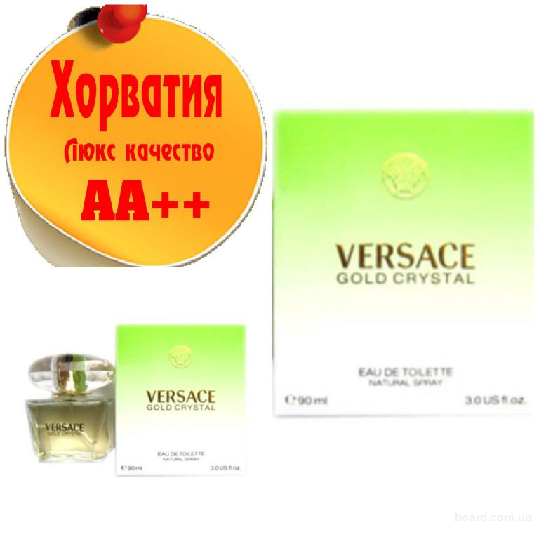 Versace Gold Crystal Люкс качество АА++! Хорватия Качественные копии