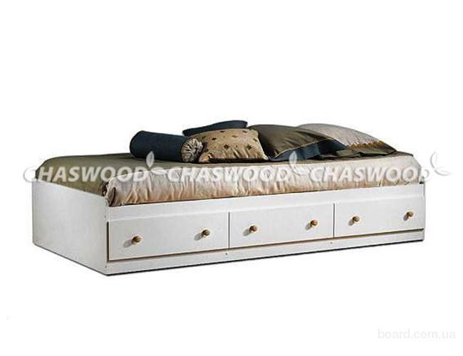 Подростковая кровать Лотос из натурального дерева