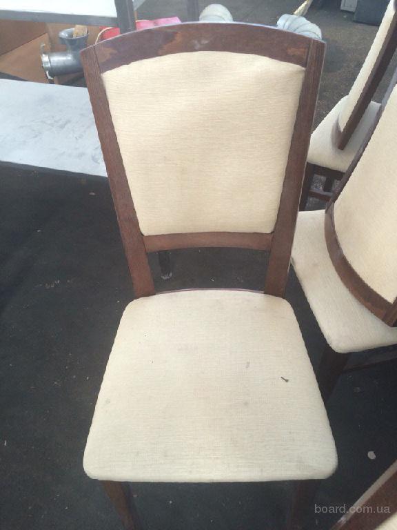 Продам бордові стільці бу
