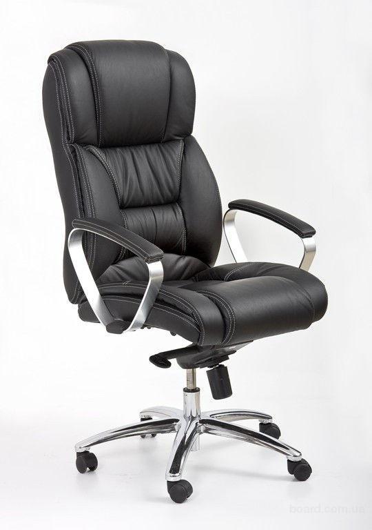 Кресло офисное Foster из натуральной кожы фирмы Halmar