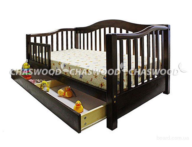 Детская кровать американка из натурального дерева