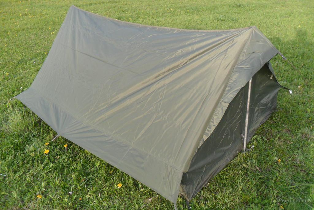 Армейская двух местная палатка