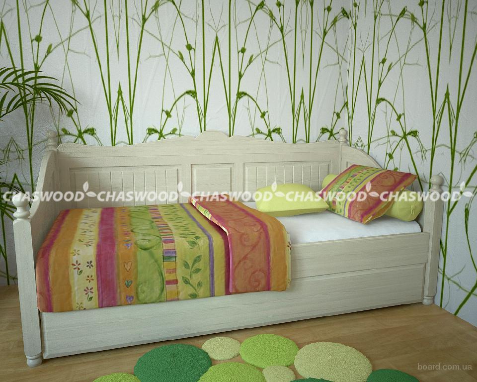 Детская кровать алиса из натурального дерева