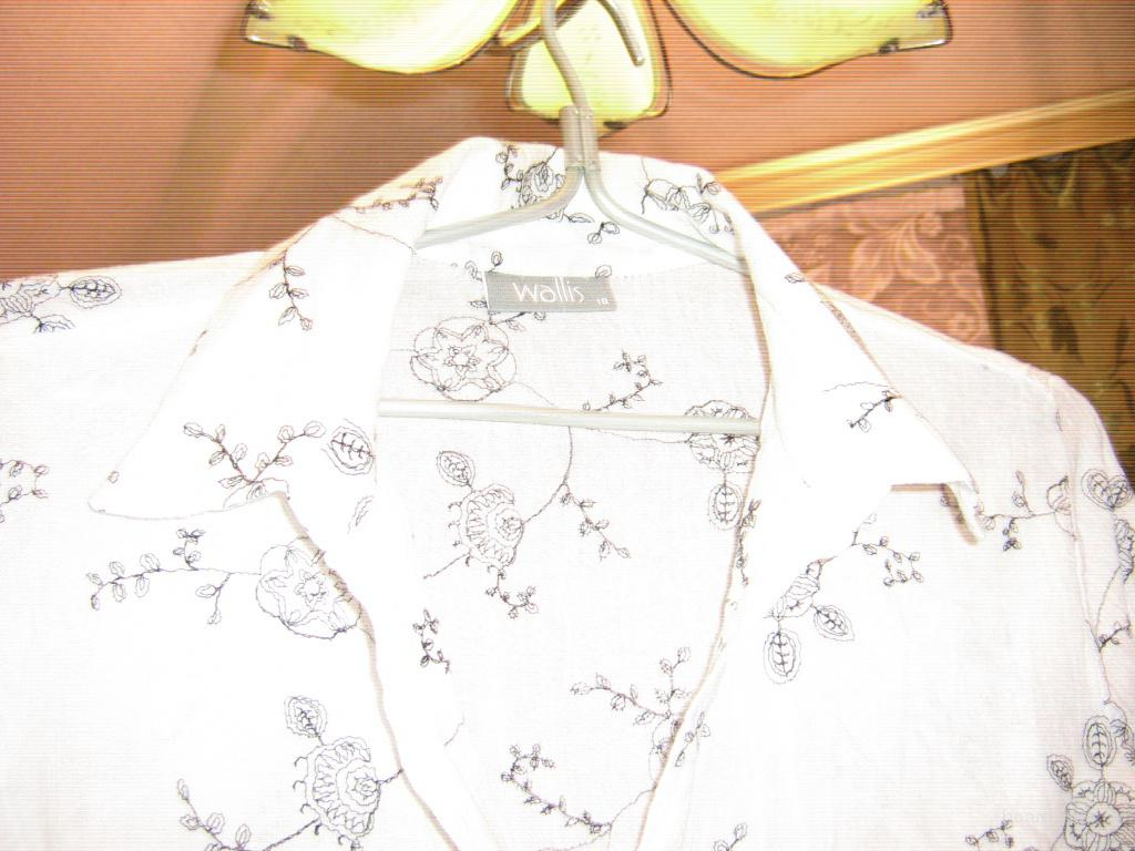 Блузка с цветочным принтом купить