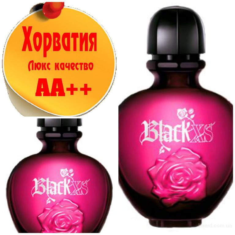 Paco Rabanne Black XS for Her Люкс качество АА++! Хорватия Качественные копии