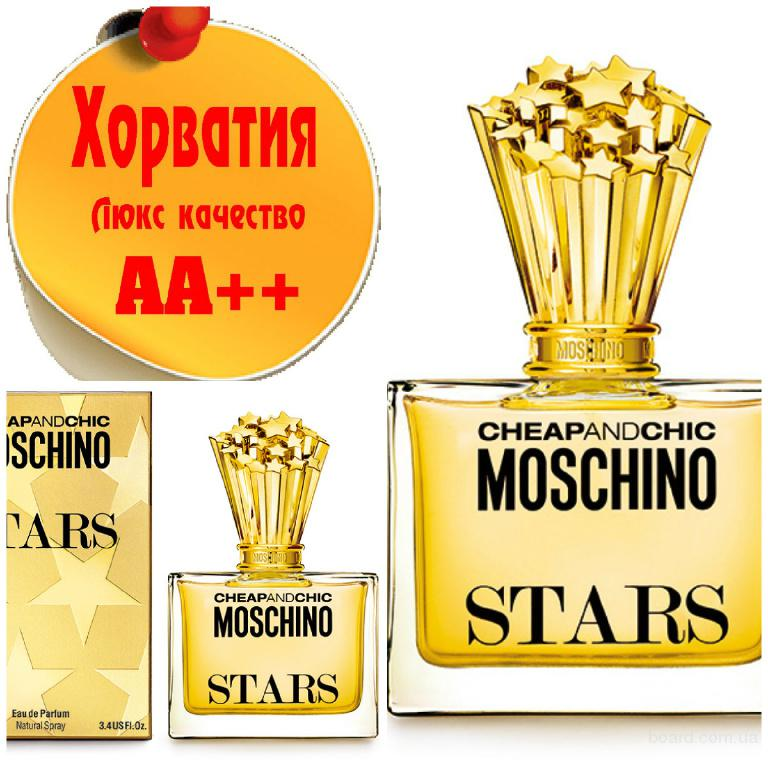 Moschino Cheap & Chic StarsЛюкс качество АА++! Хорватия Качественные копии